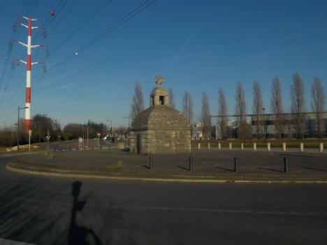 Monument au passage piéton