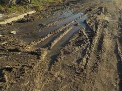 un peu de boue